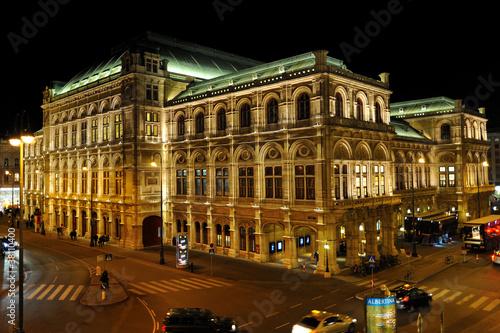 Leinwanddruck Bild Teatro Wiener Staatsoper - Vienna, Austria