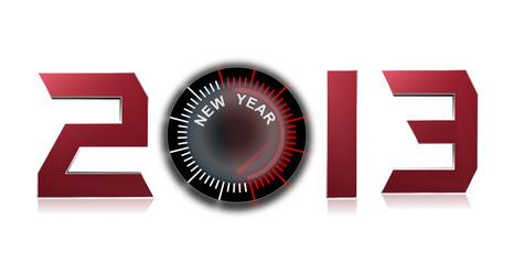 2013, compteur