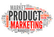 "Word Cloud ""Product Marketing"""