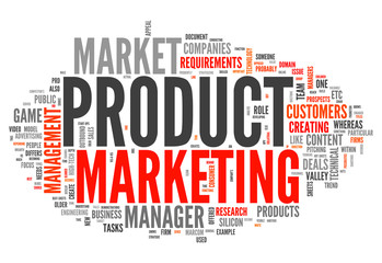 """Word Cloud """"Product Marketing"""""""