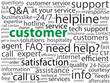 "CUSTOMER"" Tag Cloud (satisfaction service client help consumer)"