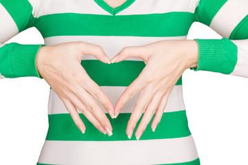 Две женские руки