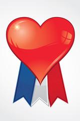 La saint valentin en France - patriotisme