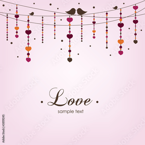 Love card design