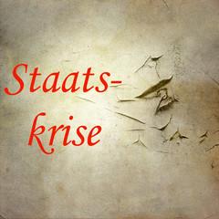 staatskrise, politik