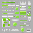 Web elements design,vector