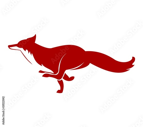Running Fox Icon