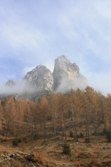 Dolomiti mountains, Unesco natural world heritage (Italy)