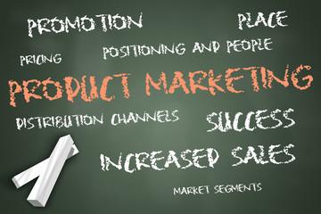 "Chalkboard ""Product Marketing"""