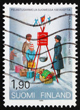 Postage stamp Finland 1989 Salvation Army in Finland poster