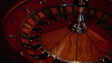 Roulette - Turning Wheel