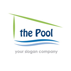 Logo pool and spa # Vector
