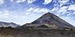 Leinwanddruck Bild - Vulkan Pico de Fogo (Cape Verde)