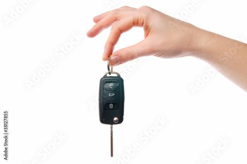 Leinwanddruck Bild Autoschlüssel