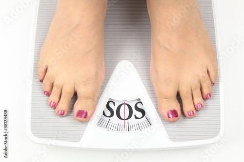 Leinwandbild Motiv Need diet