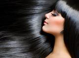 Beautiful Brunette Girl. Healthy Long Hair - 38128827