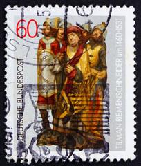 Postage stamp Germany 1981 Altar figures by Tilman Riemenschneid