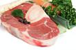 Suppengemüse und Rinderbeinscheibe