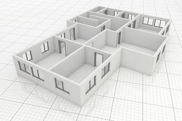 Grundriss Erdgeschoss Übersicht