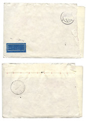 Two old envelope