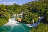 Fototapety Waterfall KRKA in Croatia