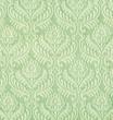 Textile baroque vert.