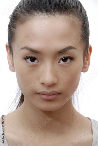 femme asiatique portrait photo libre de droits sur la banque d 39 images image 38142021. Black Bedroom Furniture Sets. Home Design Ideas