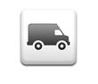 Boton cuadrado blanco simbolo furgoneta de reparto