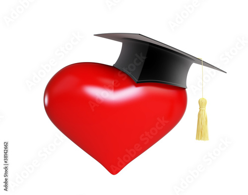 school dating graduation cap