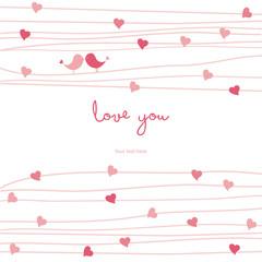 love cute card