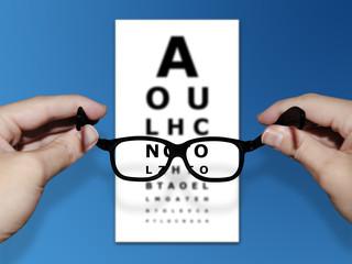 The correct glasses
