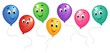 Group of cartoon balloons 3