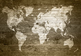Grungewood - Weltkarte