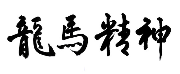 Chinese New Year Calligraphy for the Year of Dragon.