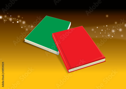Green Red Book on shadow