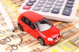Fototapety Euro Car Money