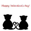 san valentino - teneri gattini innamorati