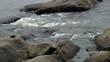 Rocky stream water
