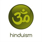 Aum syllable, religious icon, Hinduism, India