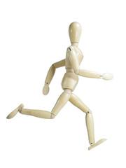 Running Wood Puppet