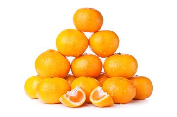 fresh orange mandarin