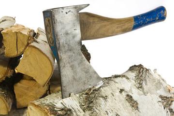 Holz hacken 3