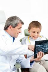 Röntgenbild beim Zahnarzt