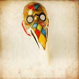 Maschera veneziana - medico della peste poster