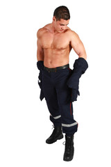 le pompier plein pied