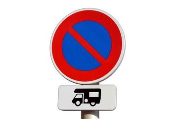 Stationnement interdit aux camping-cars
