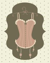 sexy vintage corset