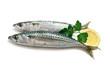 two mackerel with lemon - due sgombri