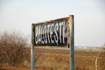 Balotesti, 1995 aviation accident location, Romania