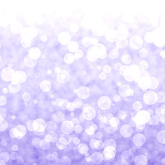Bokeh Vibrant Purple Or Mauve Background With Blurry Lights